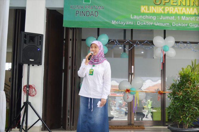Peresmian Klinik Pratama Pindad Bandung Sebagai Klinik PPK 1 Nantinya Melayani Pasien BPJS