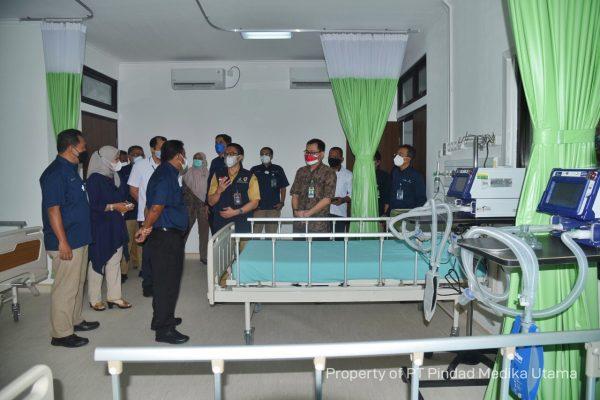 RS Pindad Bandung kini memiliki 13 Ruangan ICU, Tingkatkan Kemampuan Penanganan Covid-19